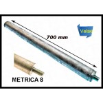 TE3321 ANODO ROSCA M-8X125 25X700 MM E.SOLAR